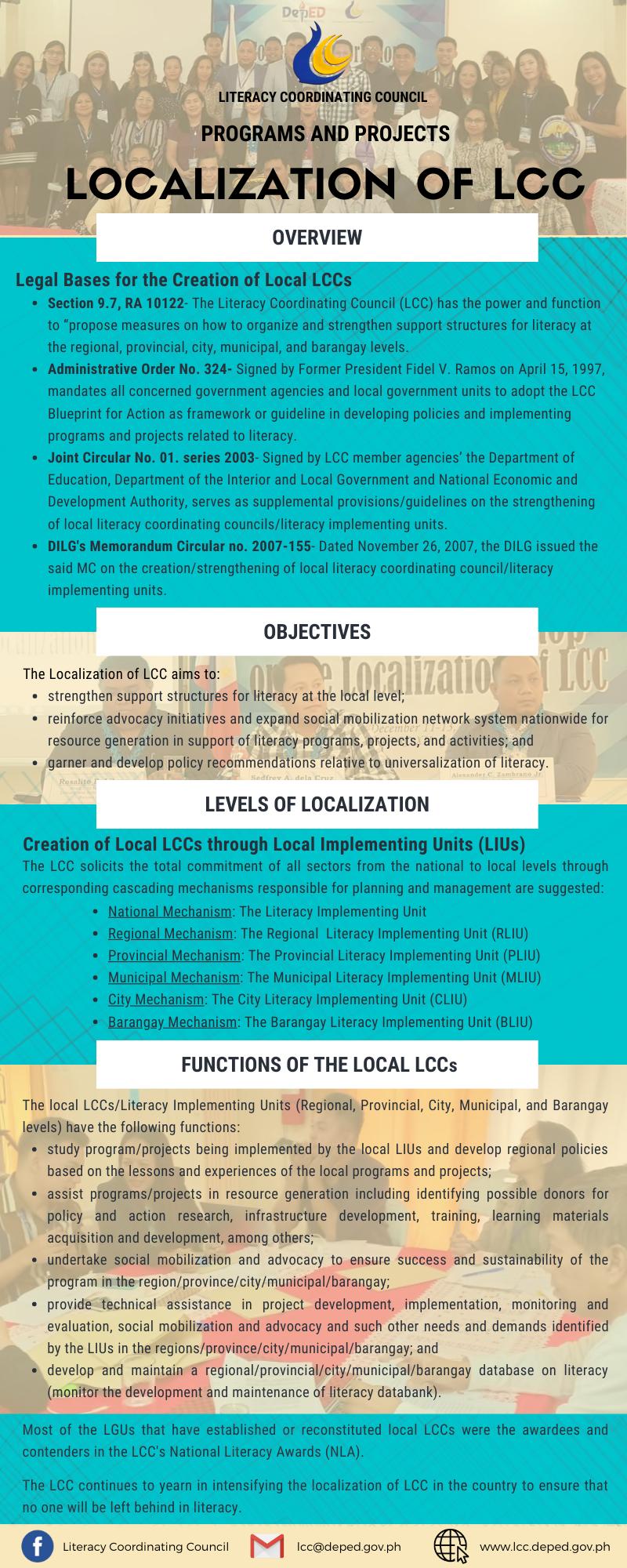 LCC Localization